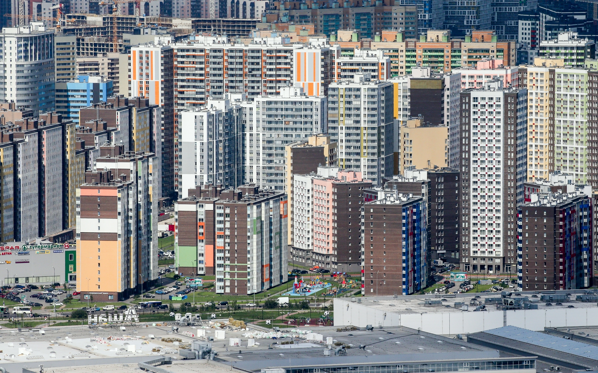 Минимальная средняя площадь квартиры в строящемся доме в сентябре 2021 года зафиксирована в Ленобласти