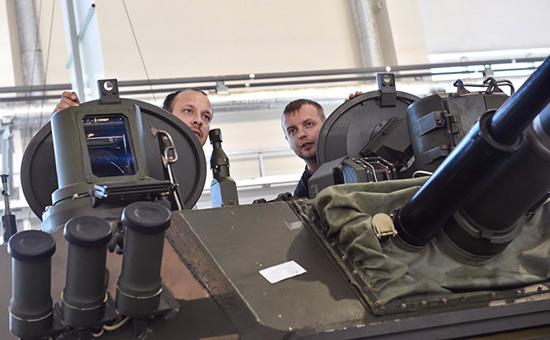 Цех завода попроизводству военной техники «Щигловский вал» госкорпорации «Ростех»