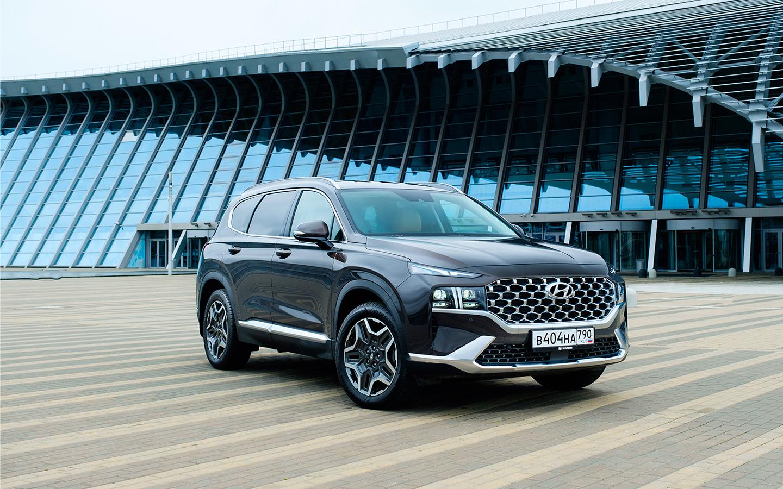 Подмена личности.  Тест-драйв нового Hyundai Santa Fe :: Autonews