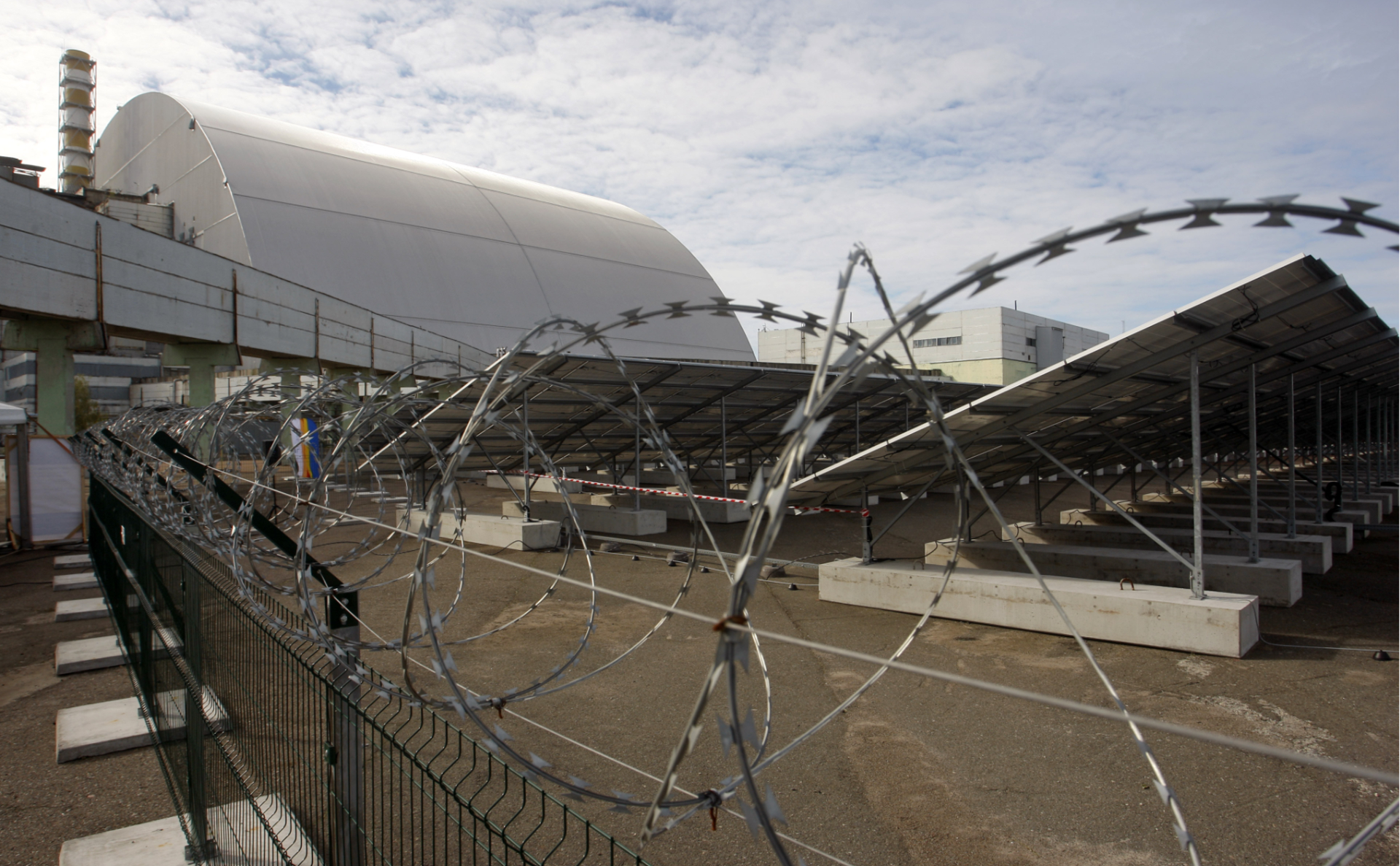Солнечные батареи в Чернобыле