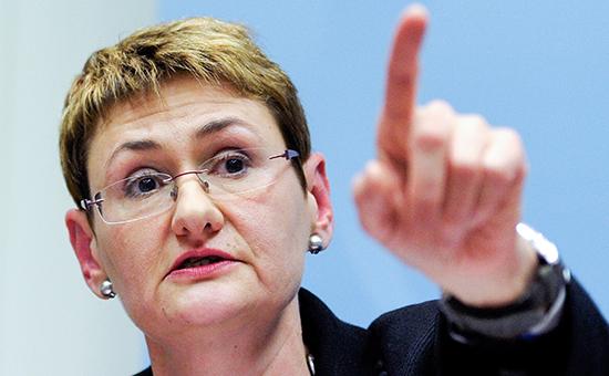 Официальный представитель НАТО Оана Лунгеску.