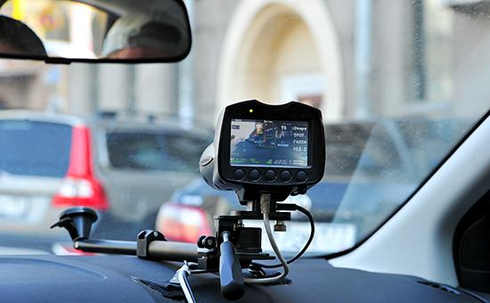 Автомобиль, оборудованный видеофиксатором «Паркон»