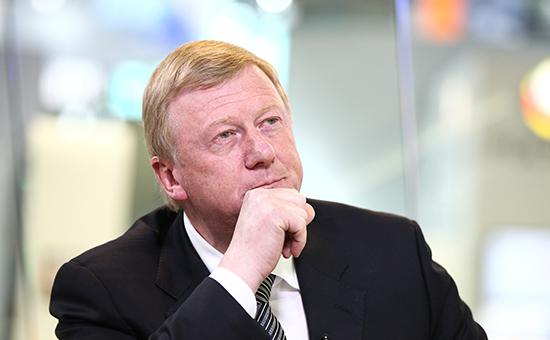 Глава госкорпорации «Роснано» Анатолий Чубайс