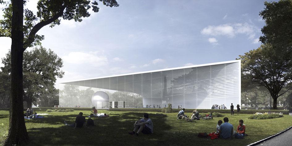 Проект павильона «Атомная энергия»