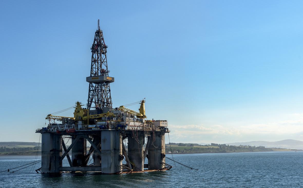 Добыча нефти на морском шельфе