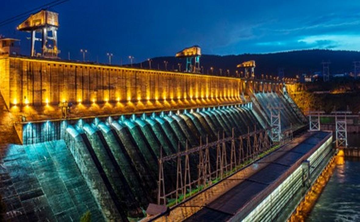 Подконтрольная En+ плотина Красноярской ГЭС