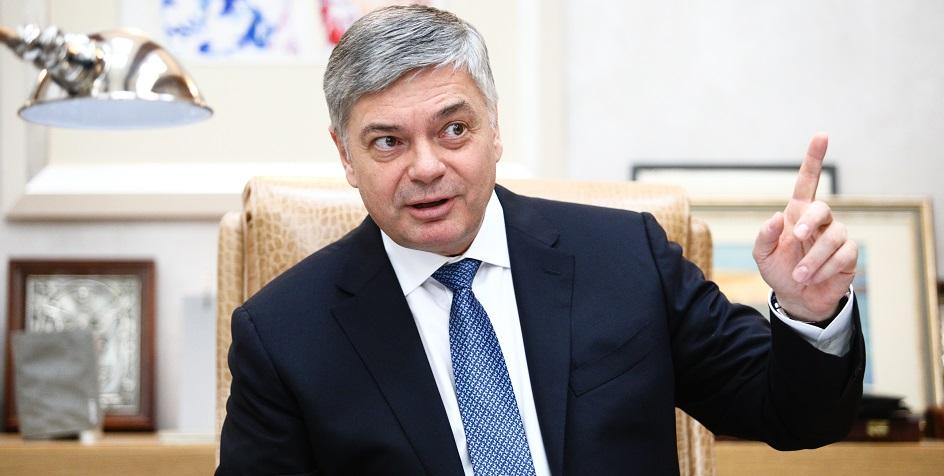 Президент Федерации гандбола России (ФГР) Сергей Шишкарев