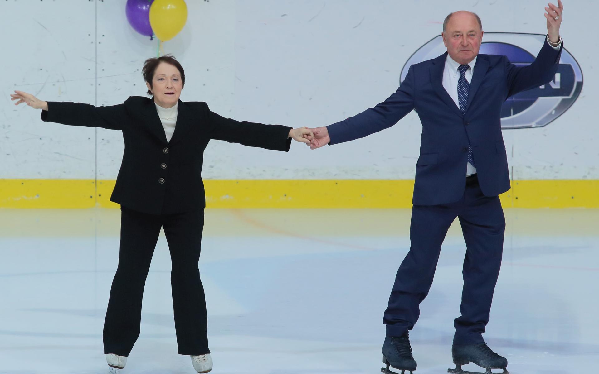 Фото: Тамара Москвина и Алексей Мишин (Замир Усманов/ТАСС)