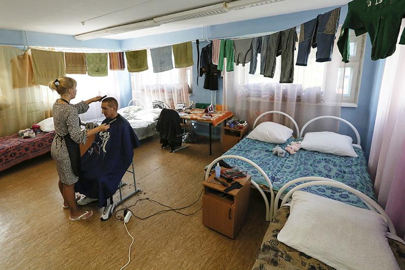 Украинские беженцы вдетском оздоровительном лагере «Жарки» квостоку отКрасноярска