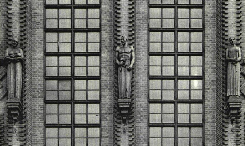 Так здание выглядело в XX веке