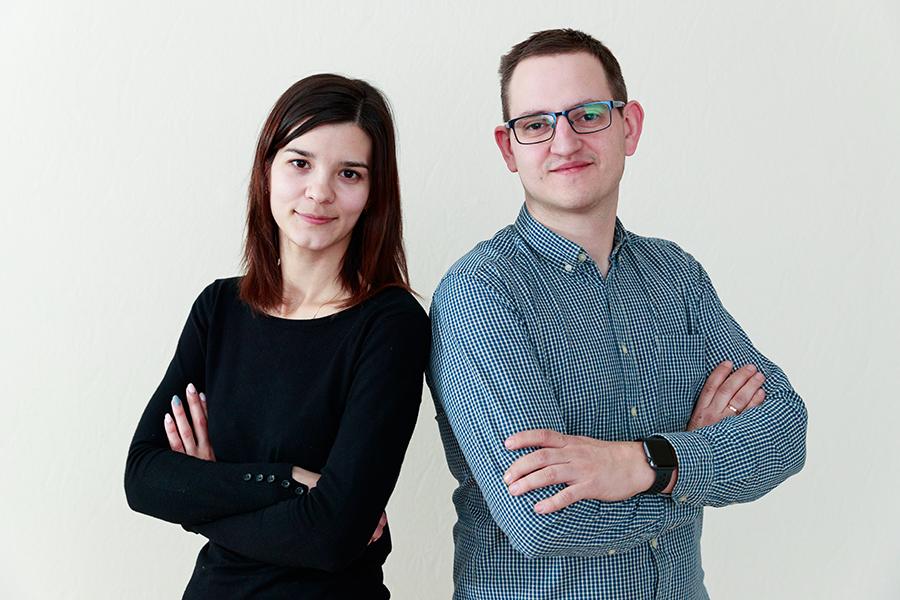 Наталья и ЕвгенийЧепухины