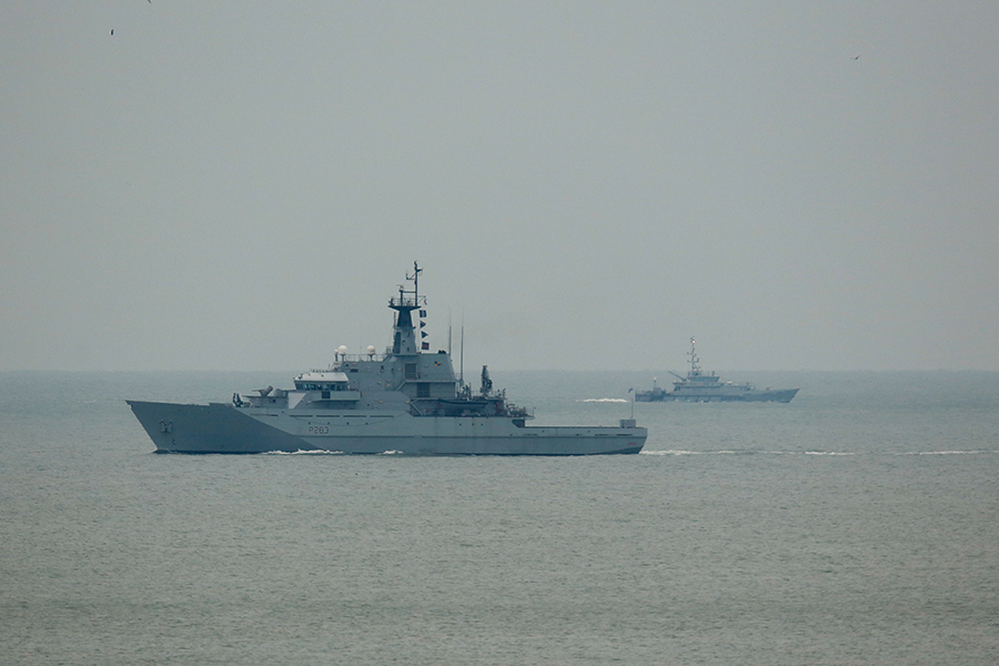 Патрульное судно Королевского флота Великобритании
