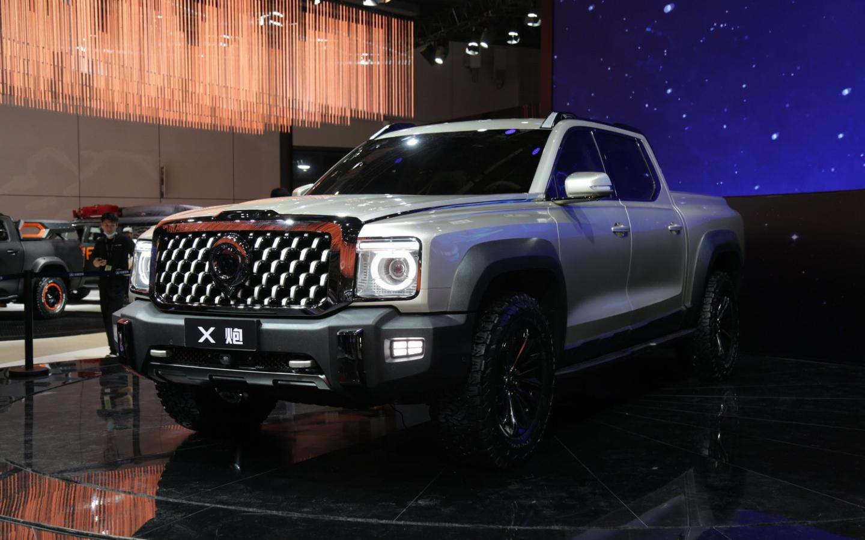 Great Wall выпустил большой пикап с 354-сильным турбомотором :: Autonews