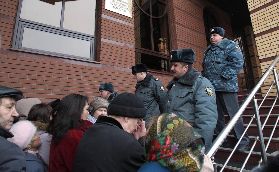 Акция против полицейского произвола в Татарстане. Март 2012 года