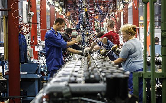 Линия сборки двигателей назаводе «КАМАЗ»
