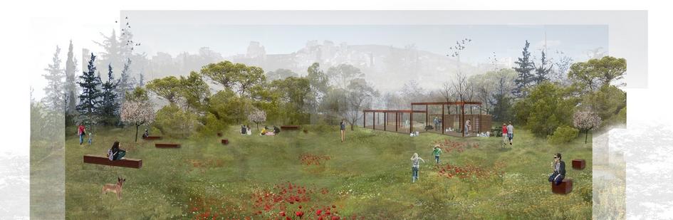 Предполагается, чтонатерритории парка появятся торговые павильоны, игровые испортивные площадки, зоны дляпикников, трасса длягорных велосипедов идаже собственная ферма