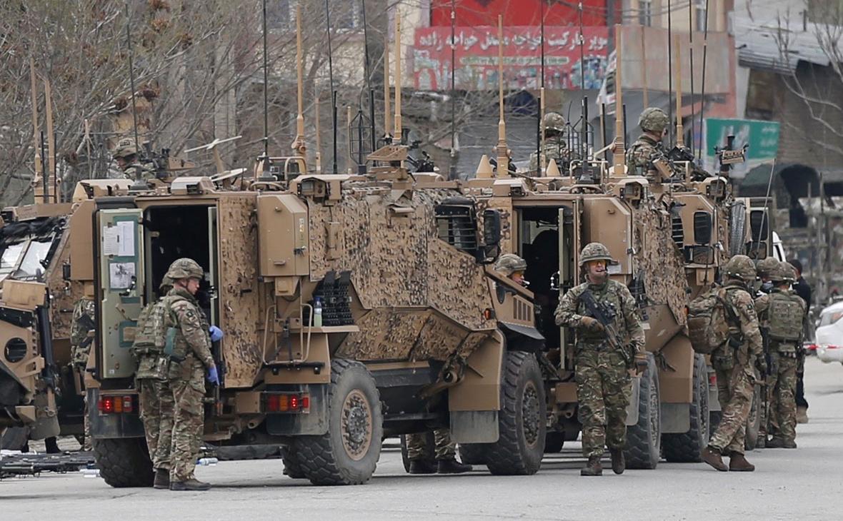 Cолдаты НАТО в Кабуле, Афганистан
