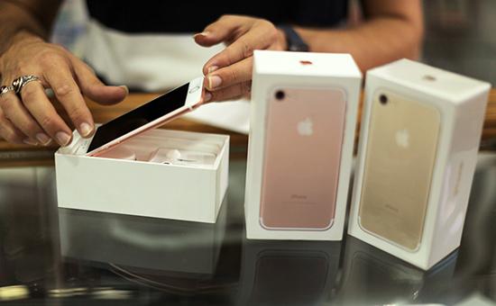 Продажа нового iPhone 7