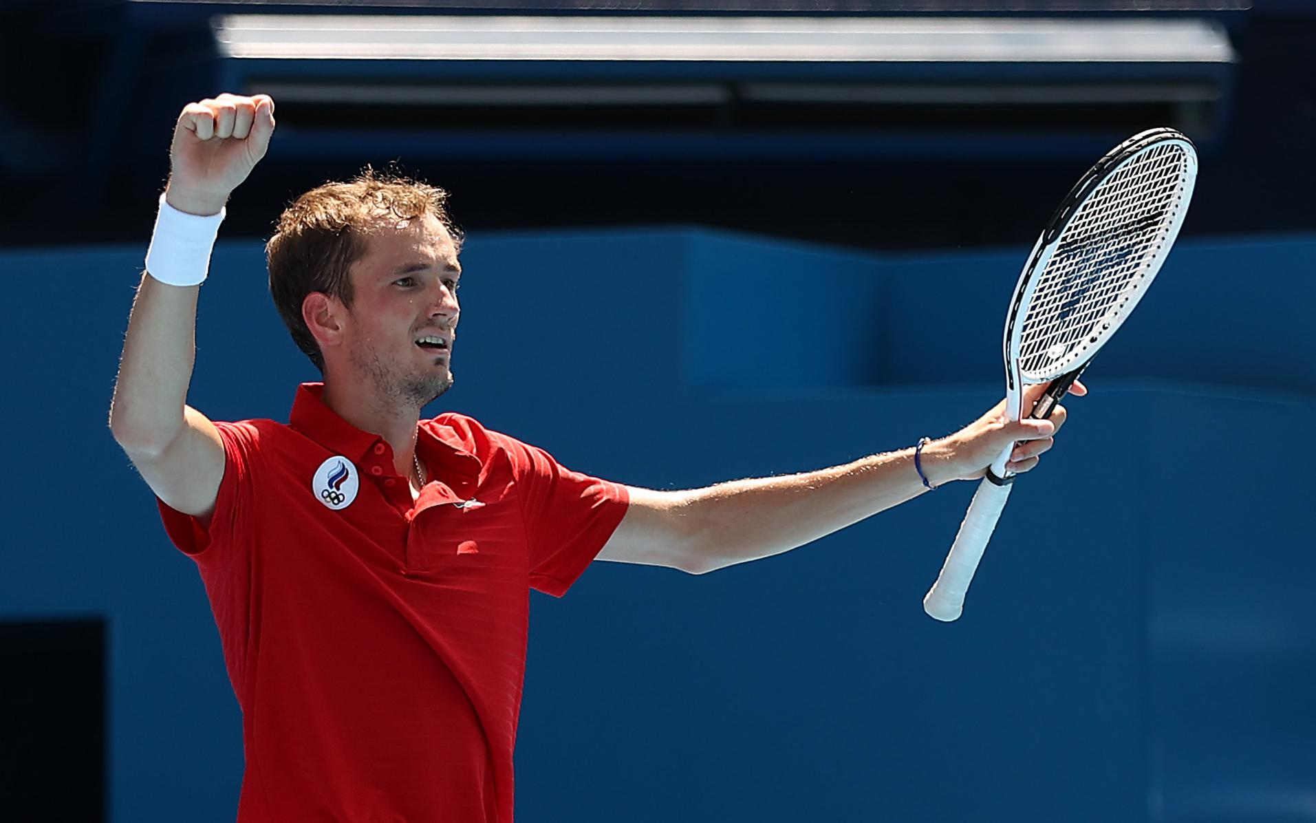 Фото: Даниил Медведев  (Photo by David Ramos/Getty Images)