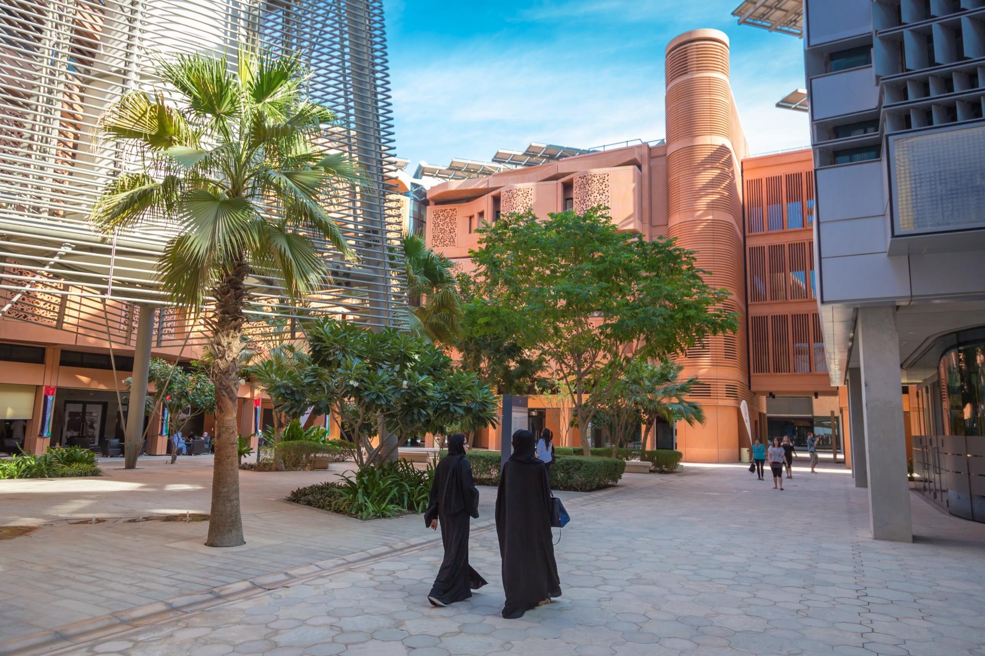 Masdar CITY в Абу-Даби