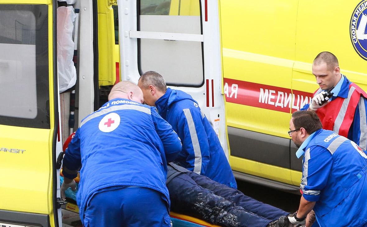 Двенадцать человек погибли при падении автобуса в море на Кубани