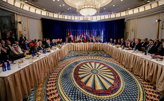ЗаседаниеСовбеза ООН в Нью-Йорке