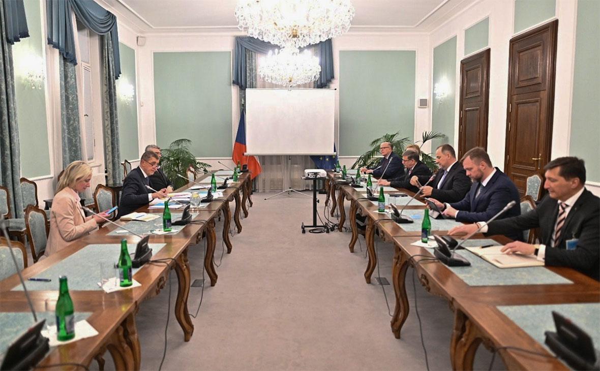 Заседание правительства Чешской Республики