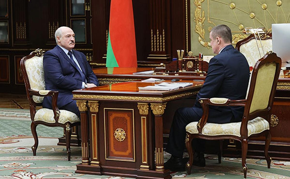 Александр Лукашенко иЛеонид Заяц