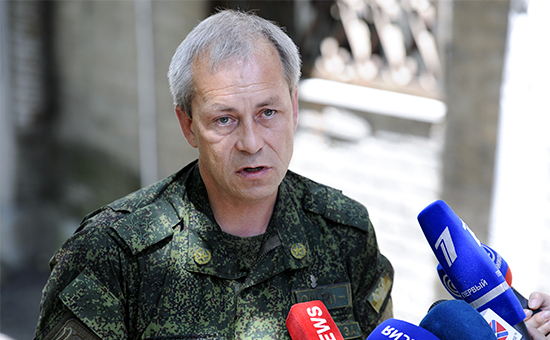 Замкомандующего корпусом Минобороны ДНР Эдуард Басурин