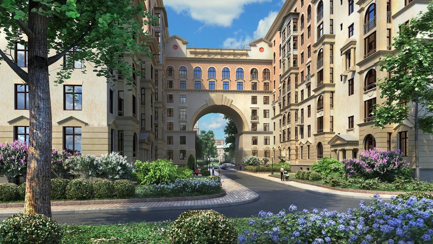 По замыслу архитекторов, дома переменной этажности должны создать разнообразие архитектурных форм, чтопозволит избежать монотонного восприятия кварталов