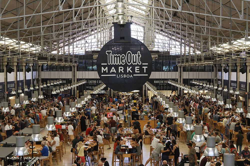 Рынок Time Out Market Lisboa