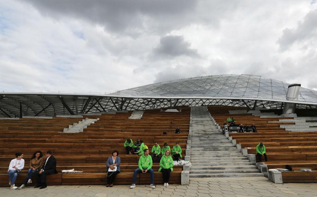 Строительство парка началось летом 2015 года