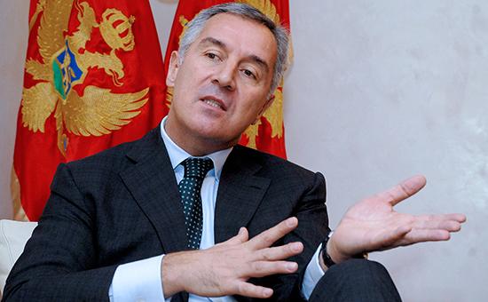 Премьер-министр ЧерногорииМило Джуканович