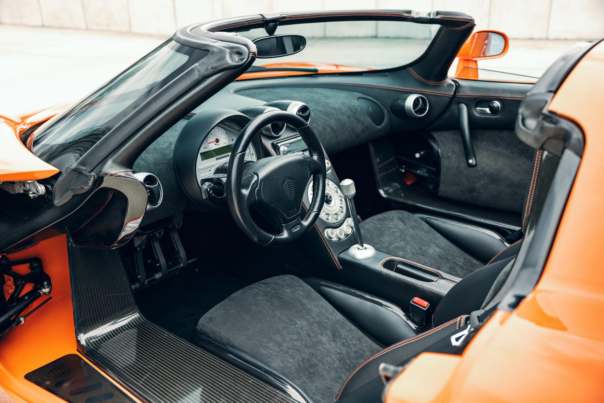 Салон первогоэкземпляра Koenigsegg CCR