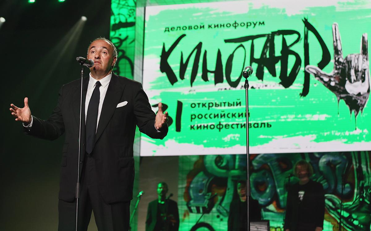 Александр Роднянский на церемонии открытия XXXI Открытого фестиваля российского кино «Кинотавр»