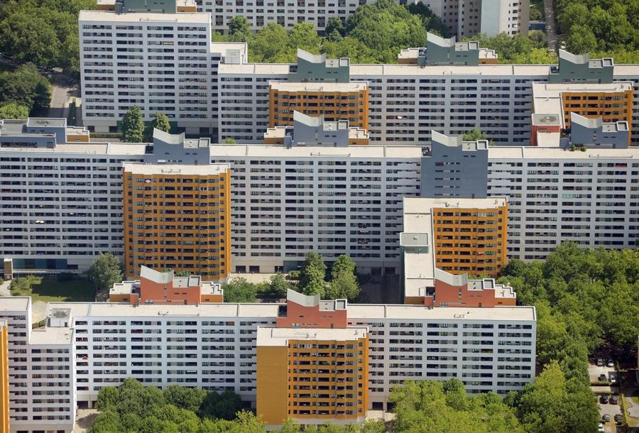 Пригород в Берлине