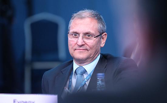 Заместитель министра экономического развития РоссииЕвгений Елин