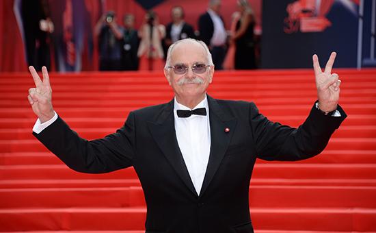 Президент фестиваля, режиссер Никита Михалков на церемонии открытия 37-го Московского международного кинофестиваля