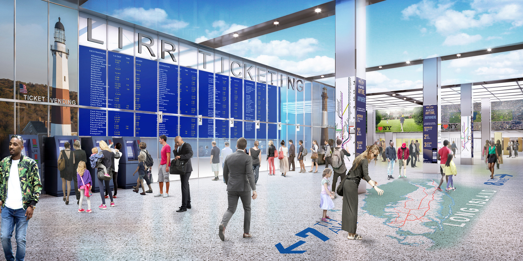 Возведение вокзала станет частью масштабной программы обновления транспортной инфраструктуры Нью-Йорка: врамках этой программы правительство инвестирует $26 млрд вразвитие общественного транспорта, пишет издание Observer