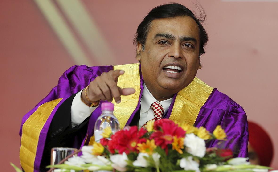 Богатейший миллиардер Индии получил статус электронного резидента Эстонии  :: Бизнес :: РБК