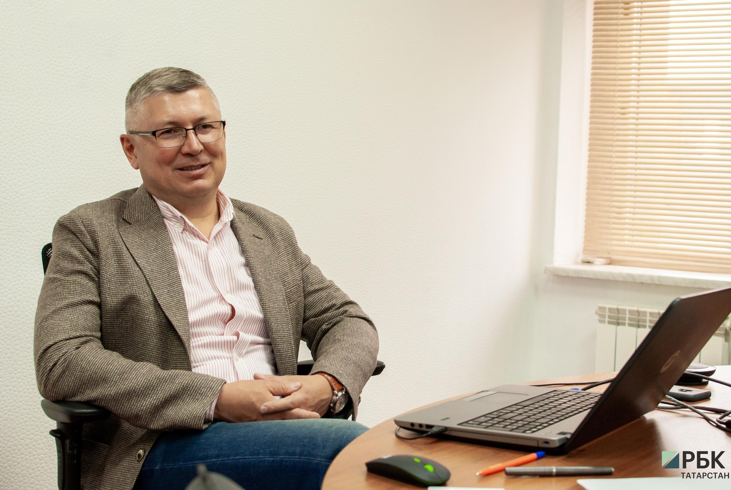 Директор казанского филиала Tele2 Марат Кабанов