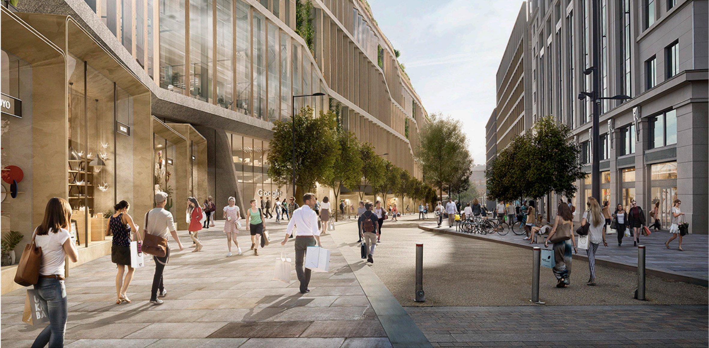 Мэр Лондона Садик Хан рад тому, чтоGoogle выбрал столицу Великобритании длястроительства штаб-квартиры. «Лондон—один измировых центров развития технологий,и, посколькудаже послеБрекзита инвестиции встолицу остаются значительными, расширение Google укрепит репутацию нашего города какмирового лидера всфере цифровых технологий»,— заявил политик