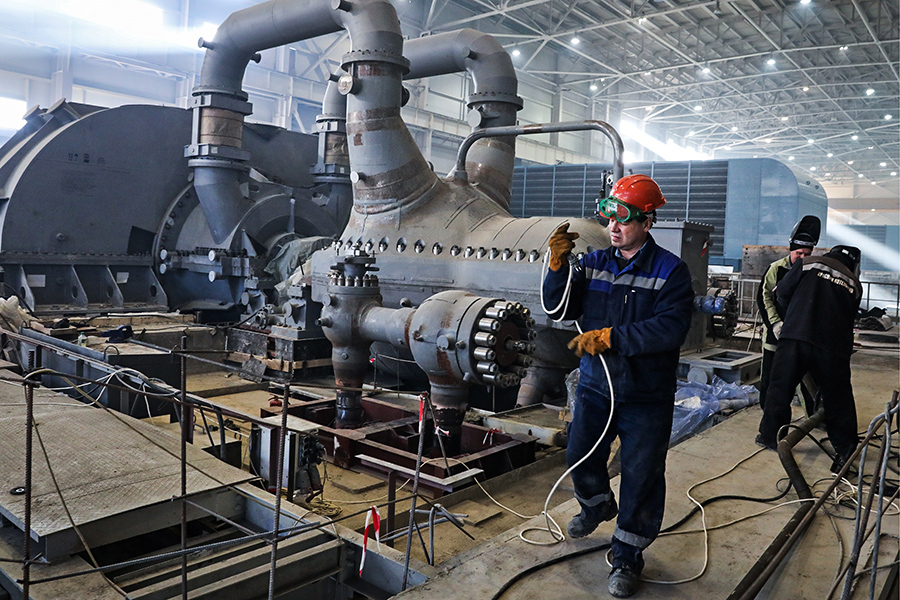 Во время строительства Балаклавской теплоэлектростанции
