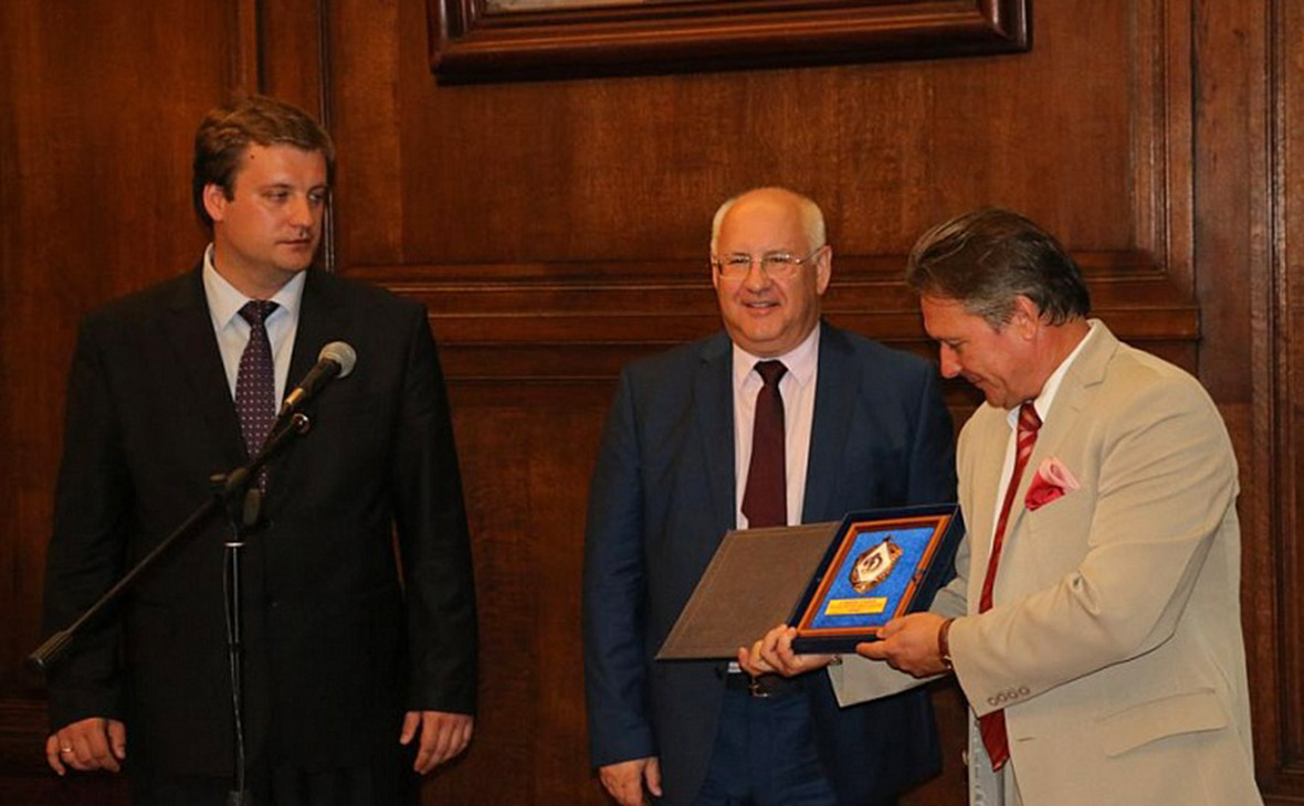 Иван Близнюк, Сергей Маленко и Виктор Коронелли(слева направо)