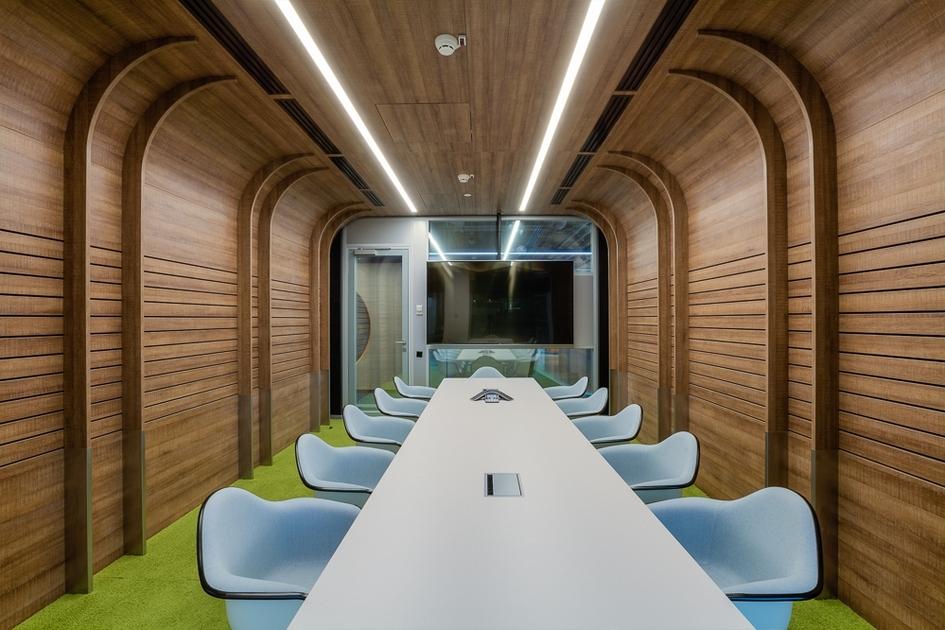 Все потенциальные источники шума распределены на плане этажей и сопровождаются специальными конструкциями полов и перегородок
