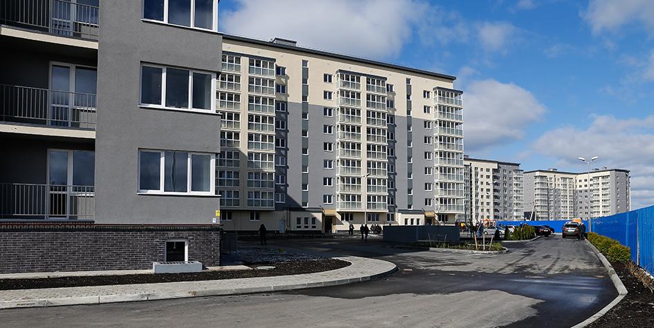 ЖК «Новая Сельма» в Калининграде. Эти дома были достроены после банкротства СУ-155