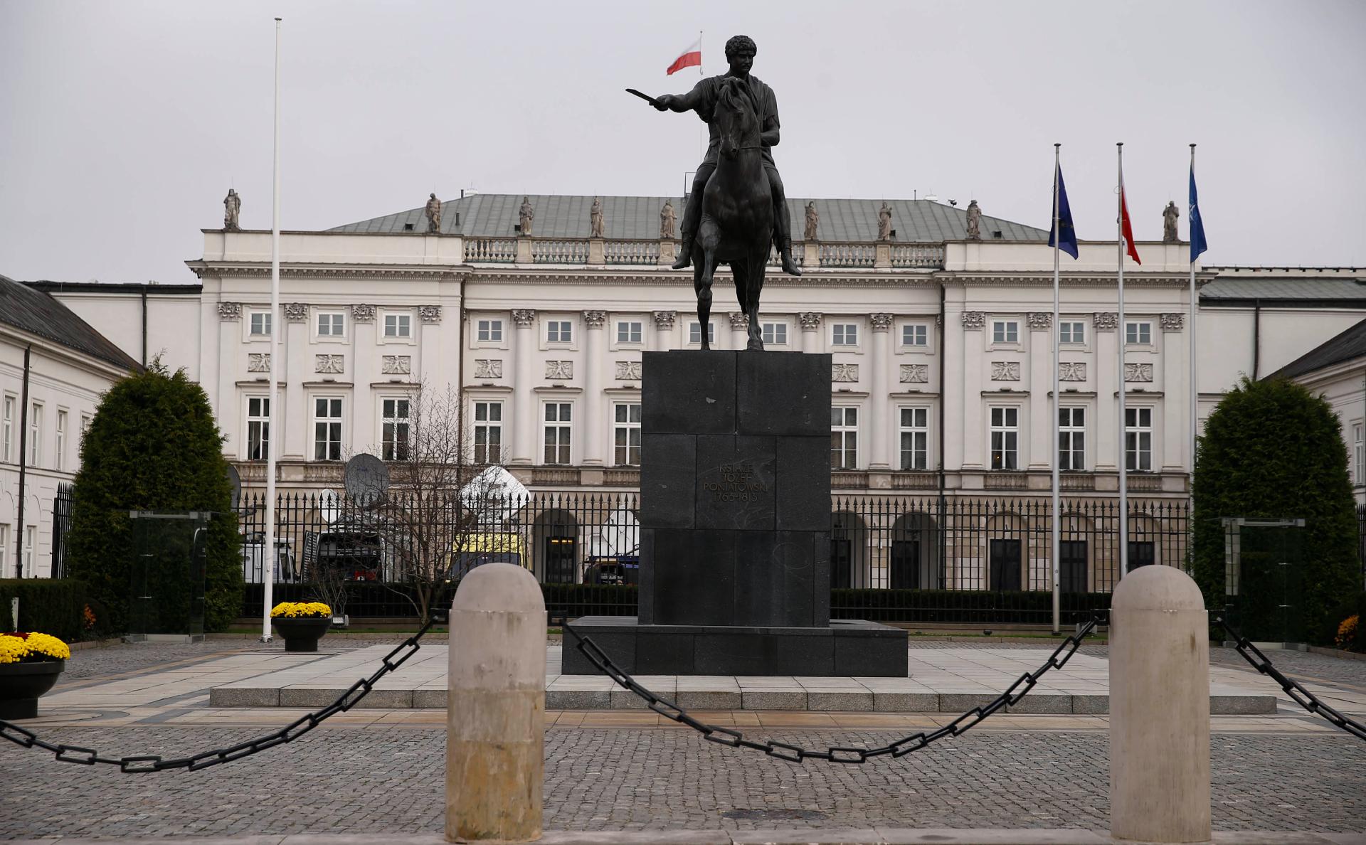 Президентский дворец в Польше