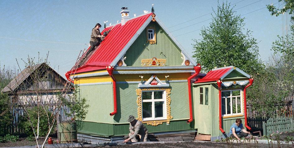 Дачный участок и домик пенсионеров в Хабаровском крае