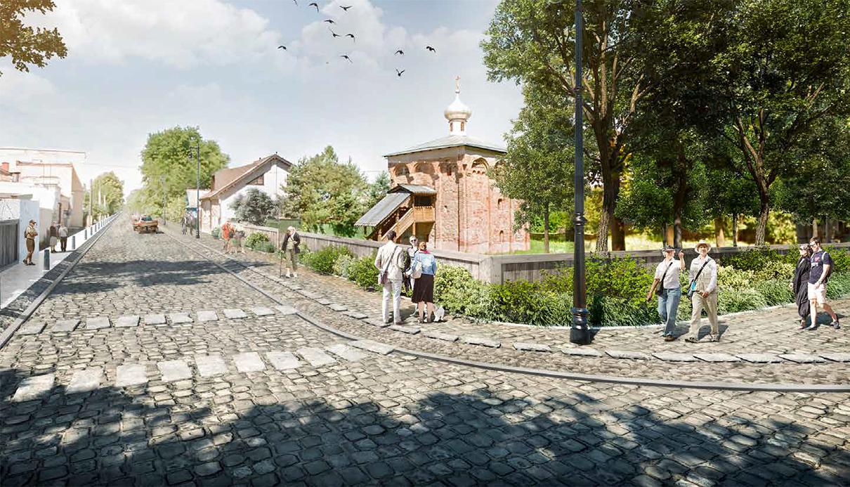 Проект благоустройства Георгиевскойулицы в Старой Руссе