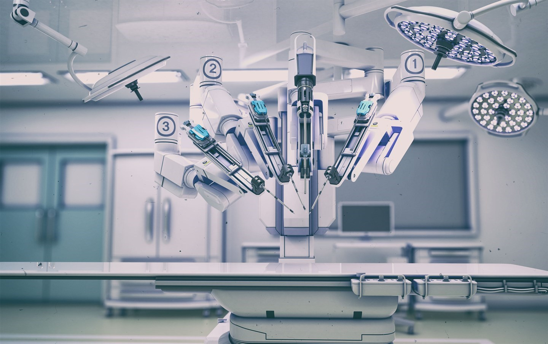 Робот-хирург Da Vinci